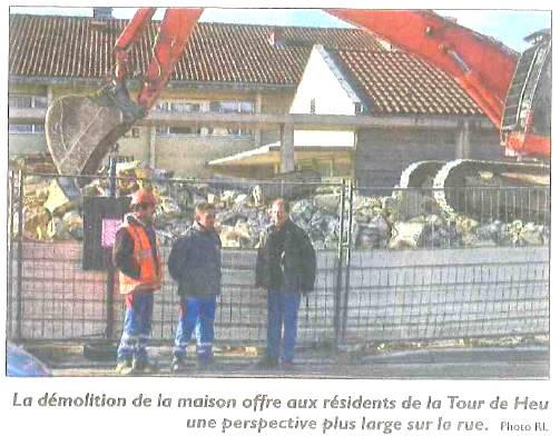 Républicain Lorrain du 03 Février 2016 – Démolition et désamiantage à Ennery