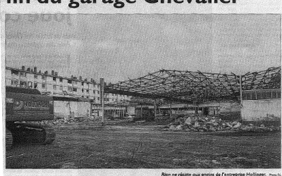 Fin du garage Chevalier à Longeville-les-Metz