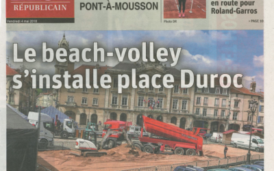 Le beache-volley s'installe place Duroc