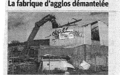 Travaux de désamiantage et de déconstruction Ancienne usine Klein à VANDIERES