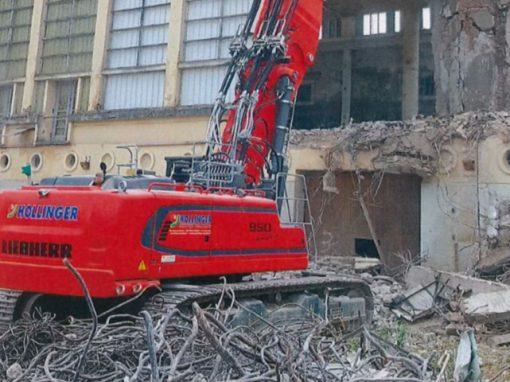 Des engins sur mesure pour une déconstruction complexe