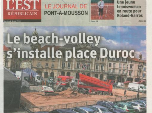 Le beache-volley s'installe place Duroc