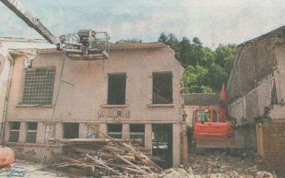Mairie de Moyeuvre Petite – Démolition de bâtiments et création d'un parking