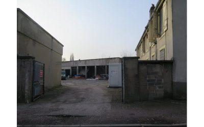 Démolition de l'ancien Centre Technique Municipal à Pont-à-Mousson